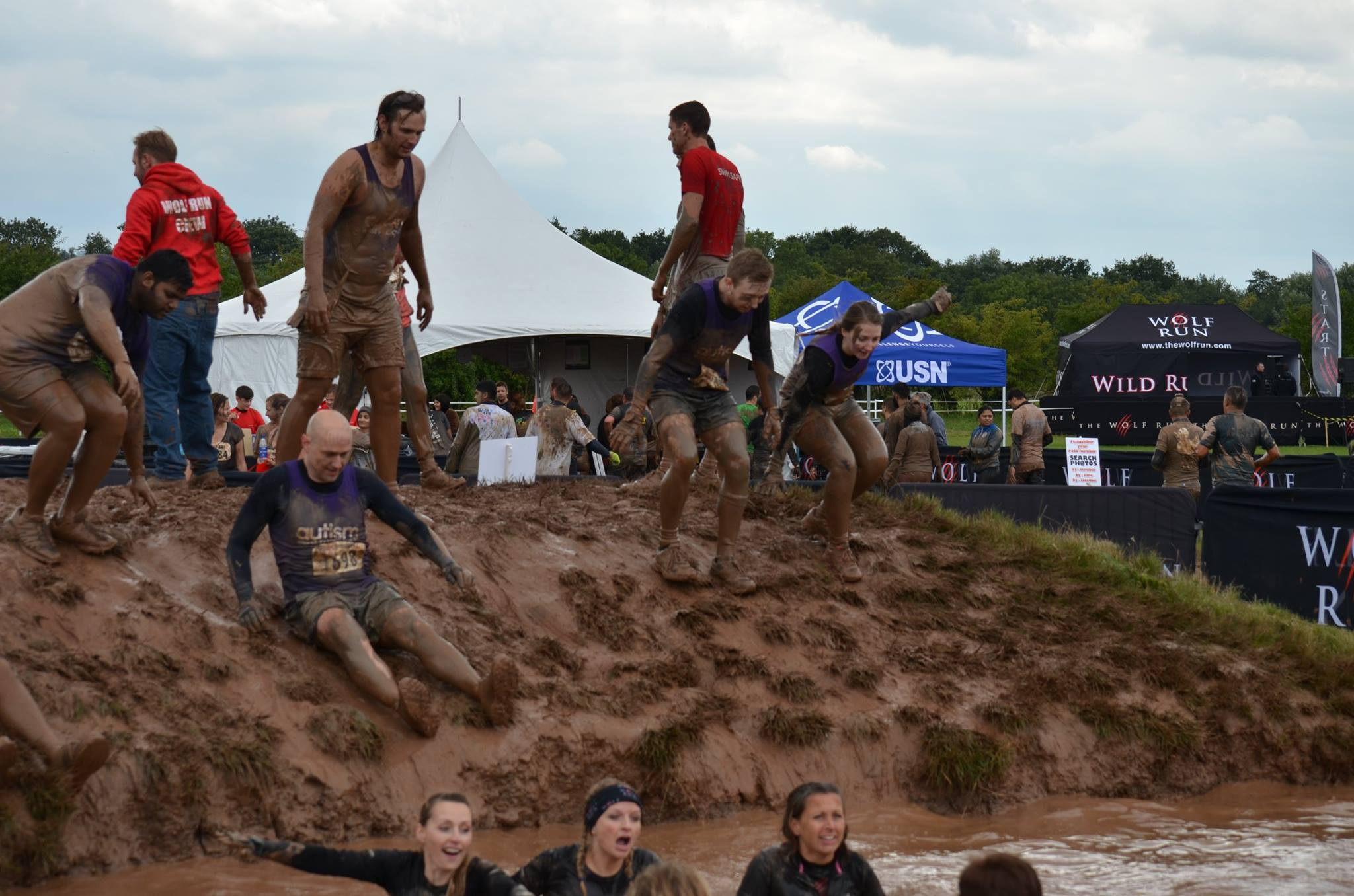 Supporting Autism West Midlands at the Wolf run
