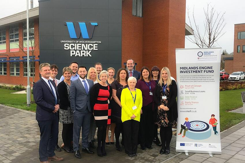 Lending and finance experts BCRS based on the University of Wolverhampton business park