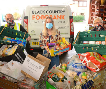 Superfast IT donate to Black Country Food Bank
